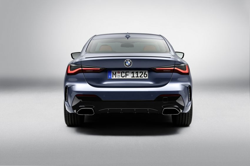 G22 BMW 4 Series Coupé debuts – five variants at launch; 48V mild-hybrid tech for M440i, three diesels Image #1125781