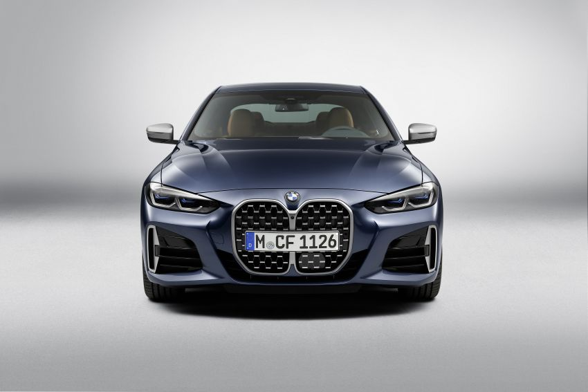 G22 BMW 4 Series Coupé debuts – five variants at launch; 48V mild-hybrid tech for M440i, three diesels Image #1125780