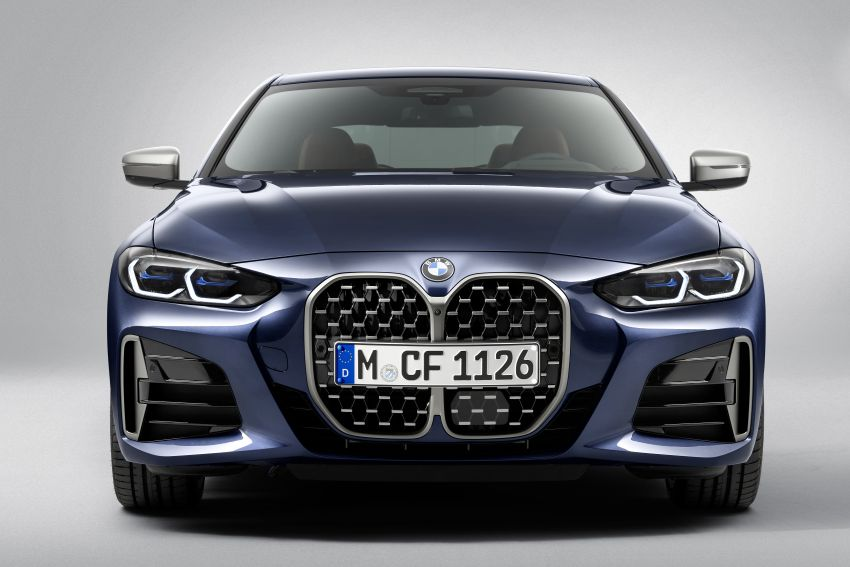 G22 BMW 4 Series Coupé debuts – five variants at launch; 48V mild-hybrid tech for M440i, three diesels Image #1125779