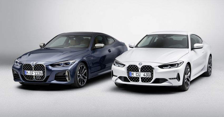 G22 BMW 4 Series Coupé debuts – five variants at launch; 48V mild-hybrid tech for M440i, three diesels Image #1125778