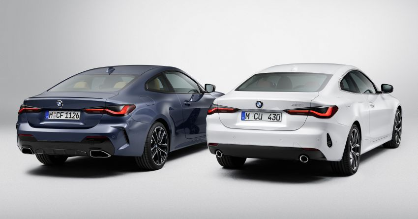 G22 BMW 4 Series Coupé debuts – five variants at launch; 48V mild-hybrid tech for M440i, three diesels Image #1125777