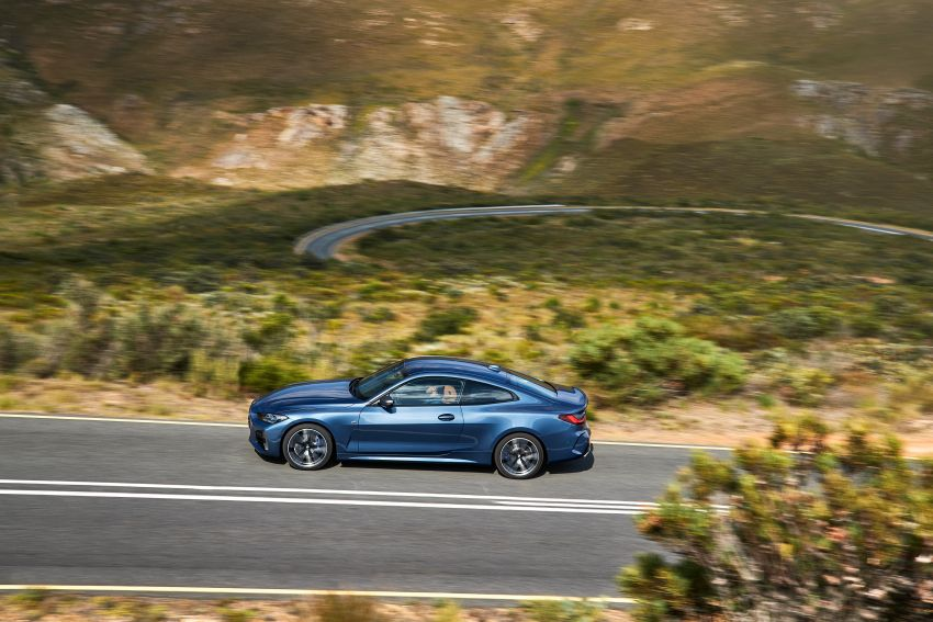 G22 BMW 4 Series Coupé debuts – five variants at launch; 48V mild-hybrid tech for M440i, three diesels Image #1125618