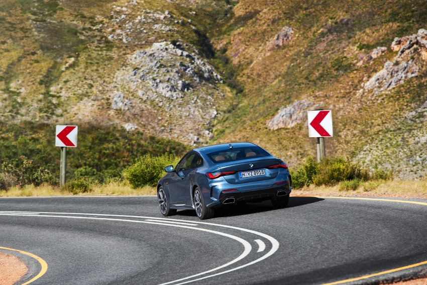 G22 BMW 4 Series Coupé debuts – five variants at launch; 48V mild-hybrid tech for M440i, three diesels Image #1125617