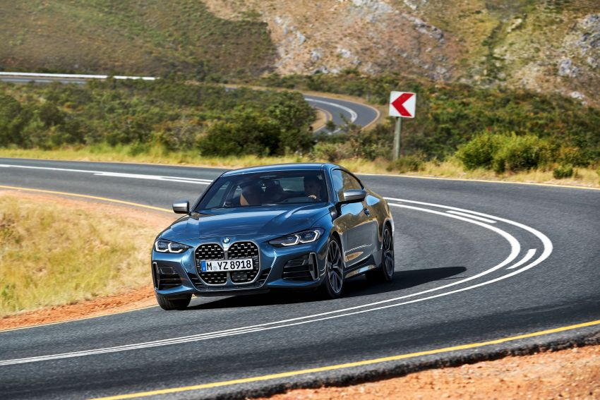G22 BMW 4 Series Coupé debuts – five variants at launch; 48V mild-hybrid tech for M440i, three diesels Image #1125616