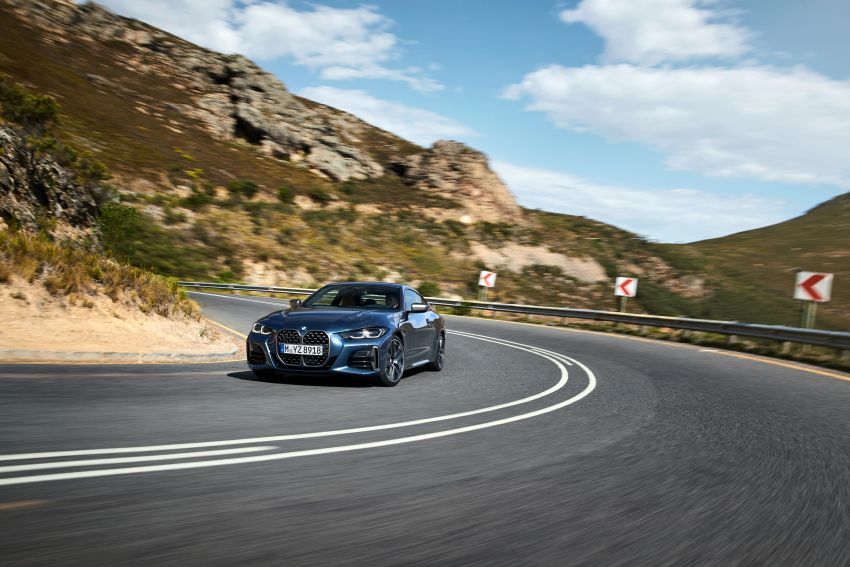 G22 BMW 4 Series Coupé debuts – five variants at launch; 48V mild-hybrid tech for M440i, three diesels Image #1125615