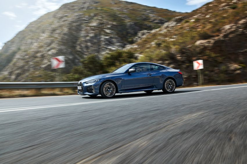 G22 BMW 4 Series Coupé debuts – five variants at launch; 48V mild-hybrid tech for M440i, three diesels Image #1125614