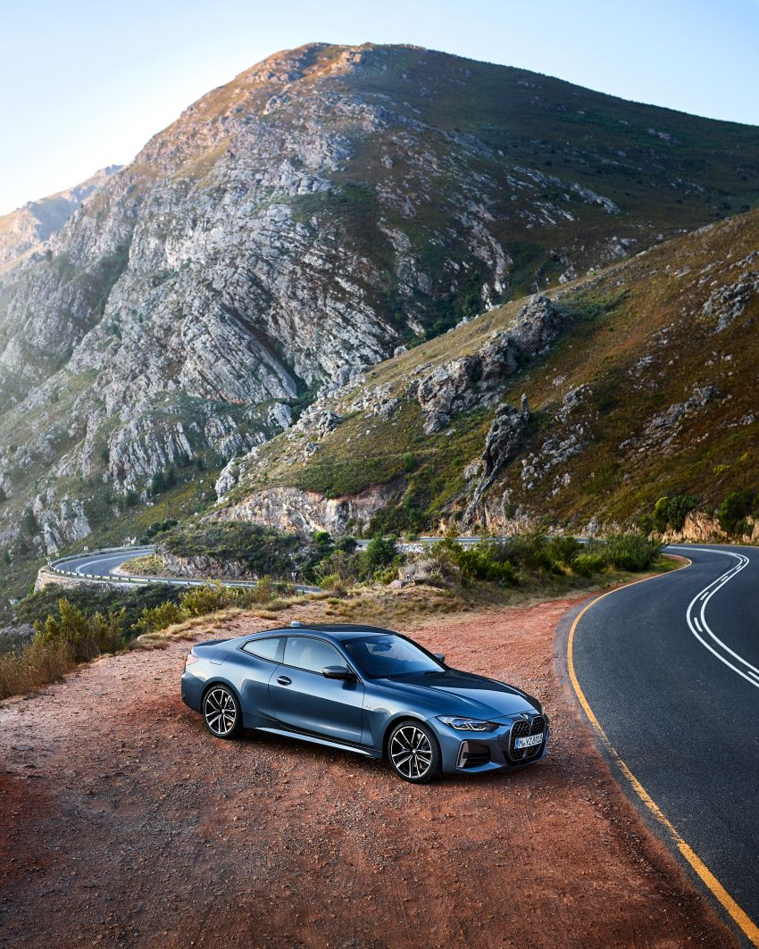 G22 BMW 4 Series Coupé debuts – five variants at launch; 48V mild-hybrid tech for M440i, three diesels Image #1125611