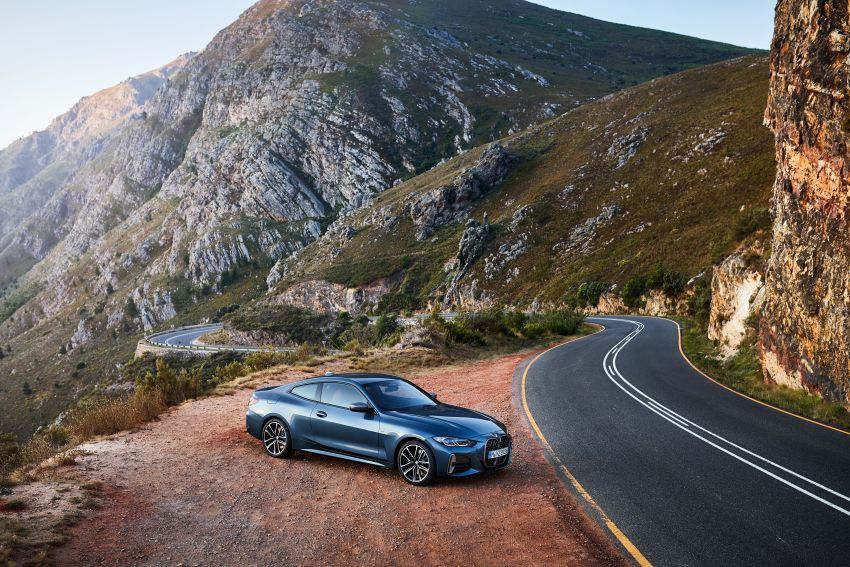 G22 BMW 4 Series Coupé debuts – five variants at launch; 48V mild-hybrid tech for M440i, three diesels Image #1125610