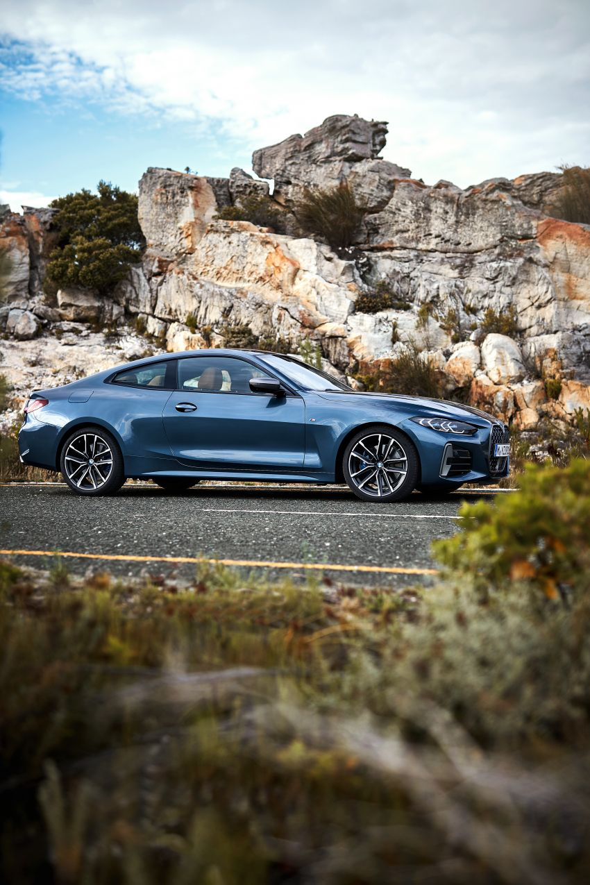 G22 BMW 4 Series Coupé debuts – five variants at launch; 48V mild-hybrid tech for M440i, three diesels Image #1125609