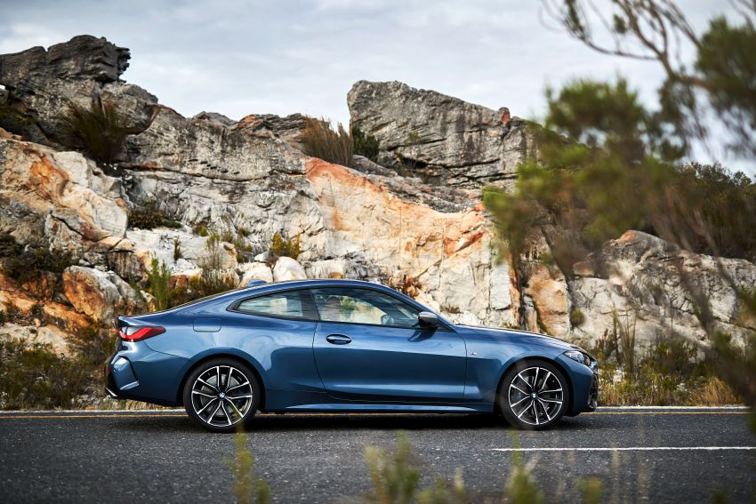 G22 BMW 4 Series Coupé debuts – five variants at launch; 48V mild-hybrid tech for M440i, three diesels Image #1125608