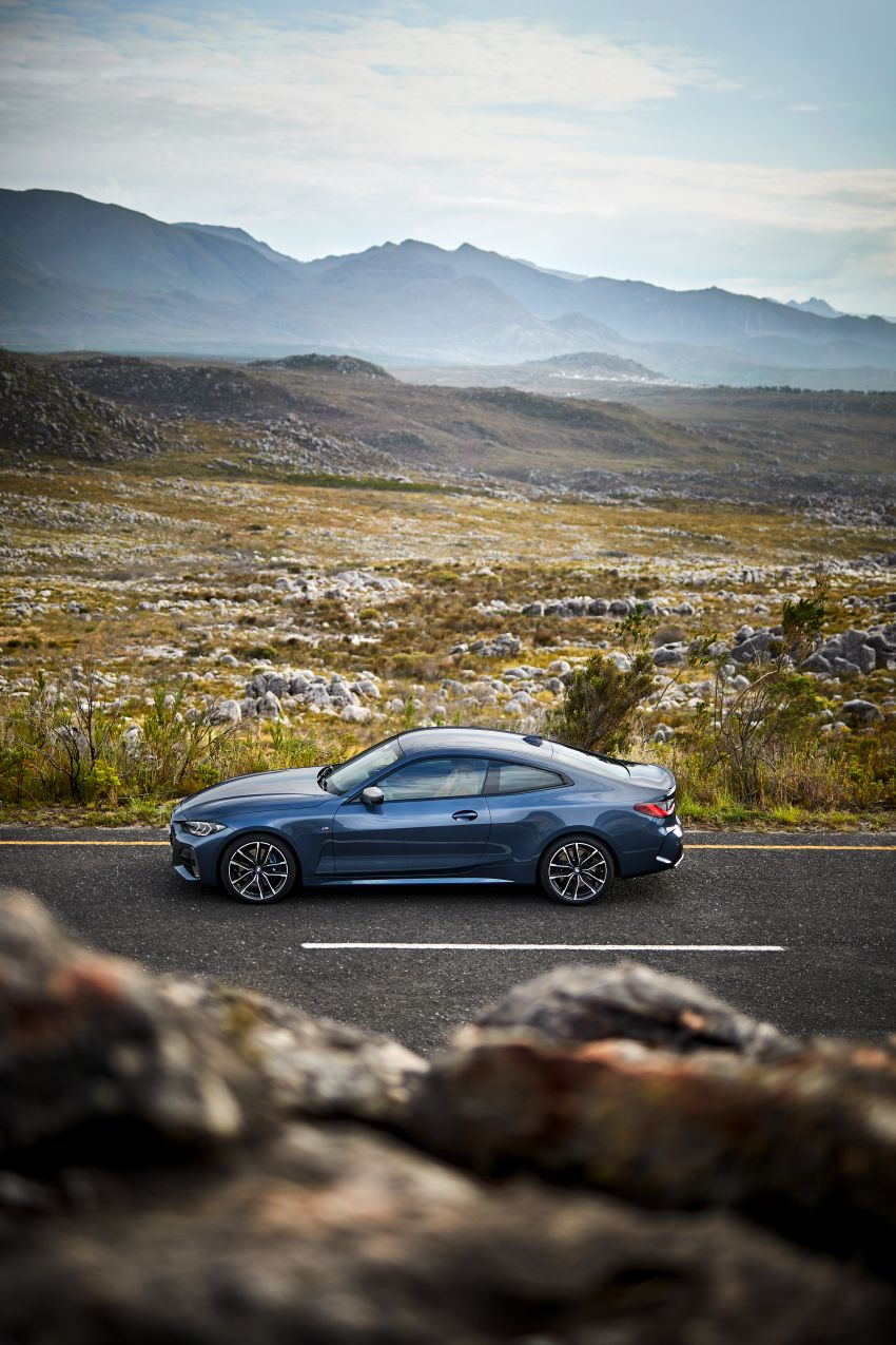 G22 BMW 4 Series Coupé debuts – five variants at launch; 48V mild-hybrid tech for M440i, three diesels Image #1125607
