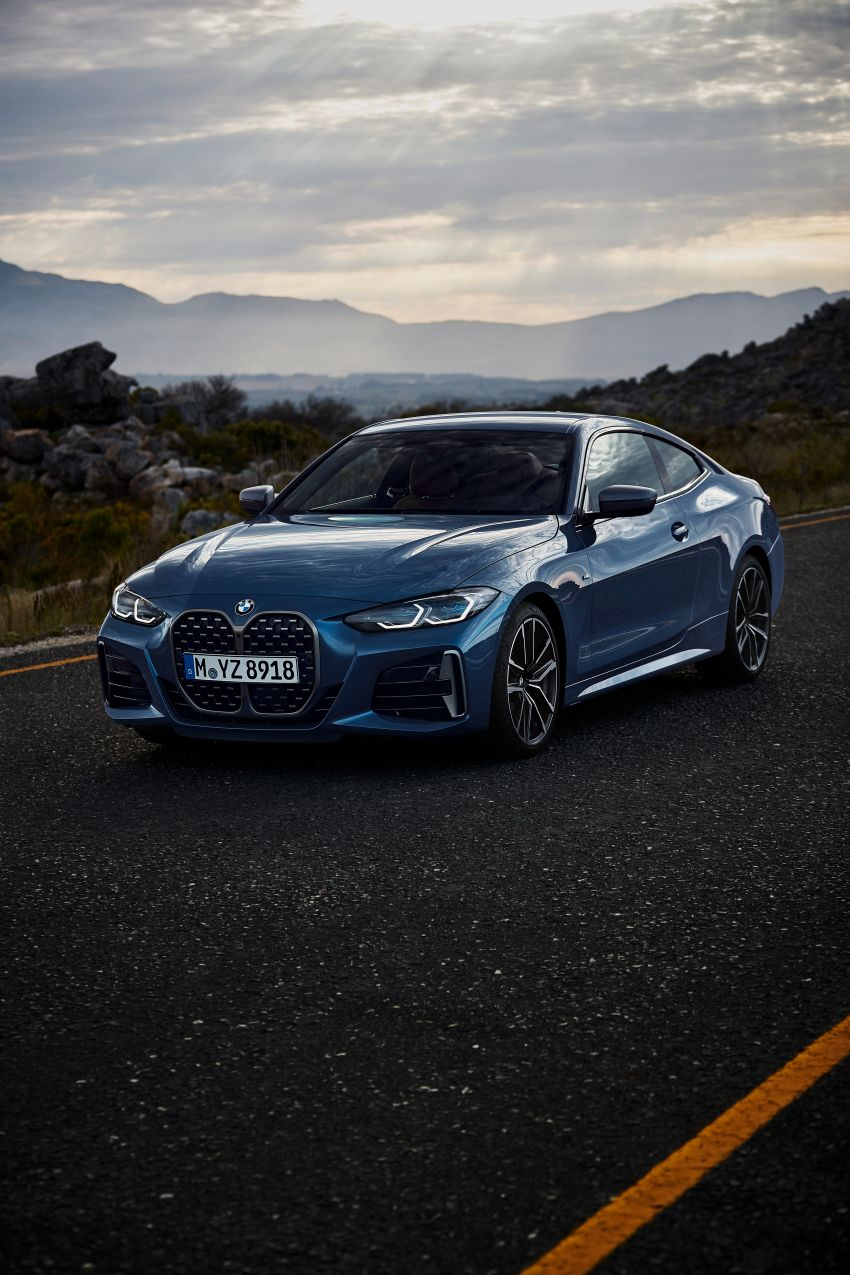 G22 BMW 4 Series Coupé debuts – five variants at launch; 48V mild-hybrid tech for M440i, three diesels Image #1125606