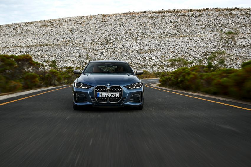 G22 BMW 4 Series Coupé debuts – five variants at launch; 48V mild-hybrid tech for M440i, three diesels Image #1125605