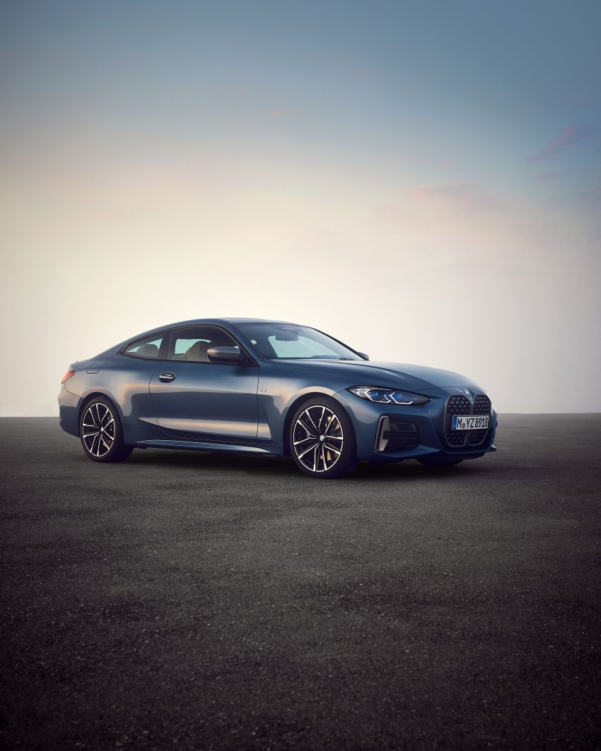G22 BMW 4 Series Coupé debuts – five variants at launch; 48V mild-hybrid tech for M440i, three diesels Image #1125603