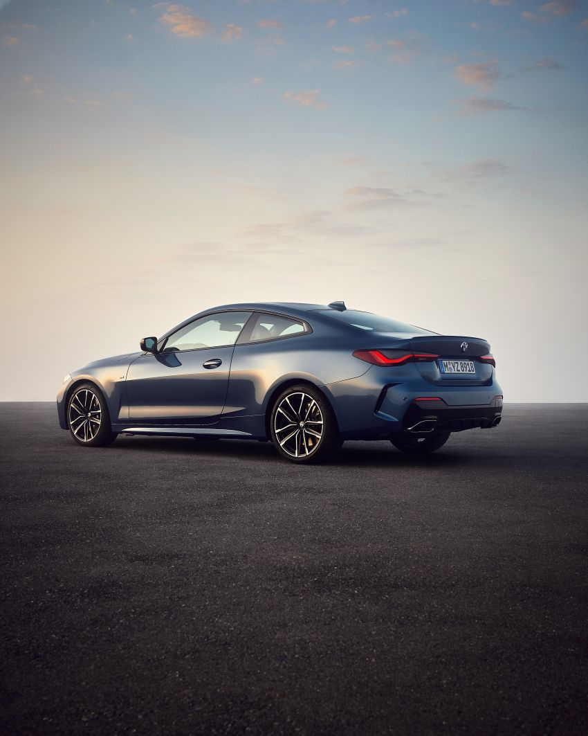 G22 BMW 4 Series Coupé debuts – five variants at launch; 48V mild-hybrid tech for M440i, three diesels Image #1125602