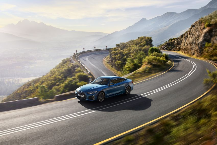 G22 BMW 4 Series Coupé debuts – five variants at launch; 48V mild-hybrid tech for M440i, three diesels Image #1125652