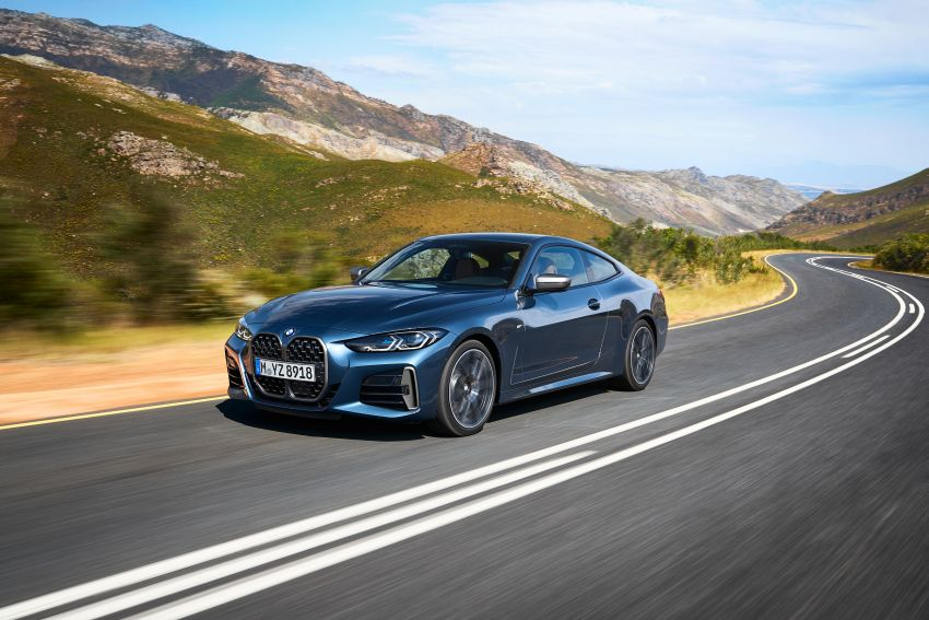 G22 BMW 4 Series Coupé debuts – five variants at launch; 48V mild-hybrid tech for M440i, three diesels Image #1125651