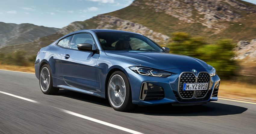 G22 BMW 4 Series Coupé debuts – five variants at launch; 48V mild-hybrid tech for M440i, three diesels Image #1125650