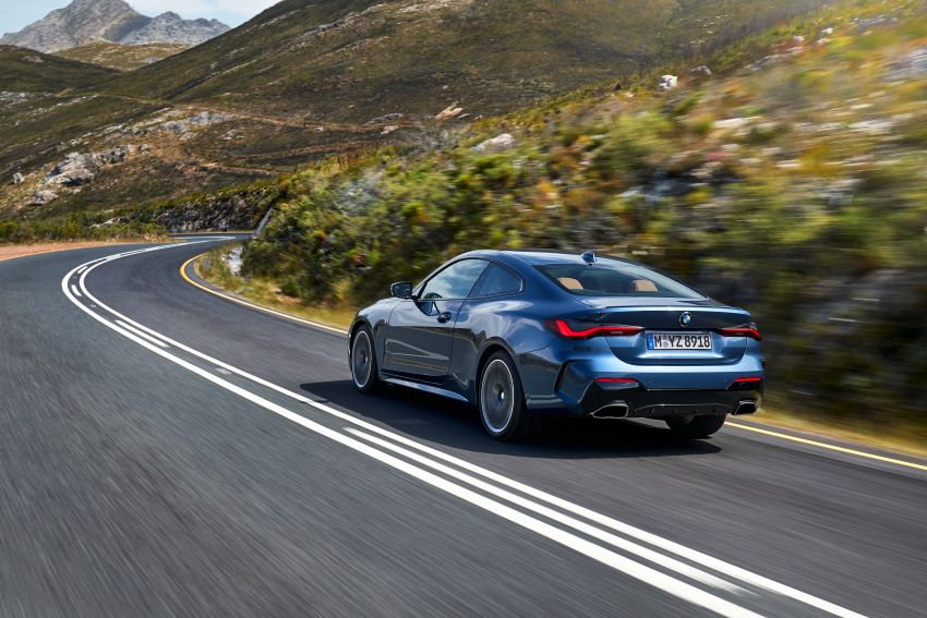 G22 BMW 4 Series Coupé debuts – five variants at launch; 48V mild-hybrid tech for M440i, three diesels Image #1125649