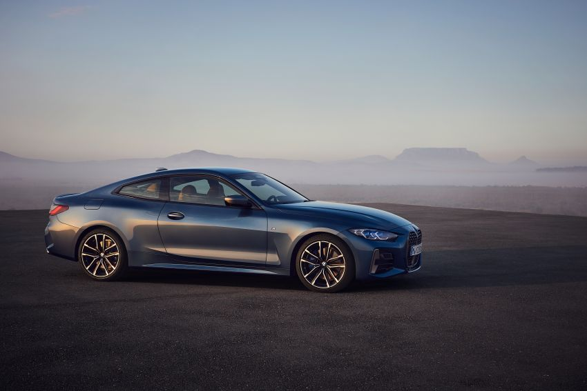 G22 BMW 4 Series Coupé debuts – five variants at launch; 48V mild-hybrid tech for M440i, three diesels Image #1125601