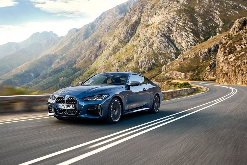 G22 BMW 4 Series Coupé debuts – five variants at launch; 48V mild-hybrid tech for M440i, three diesels Image #1125648
