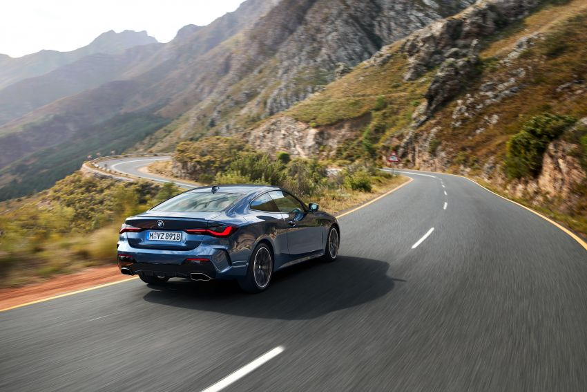 G22 BMW 4 Series Coupé debuts – five variants at launch; 48V mild-hybrid tech for M440i, three diesels Image #1125647