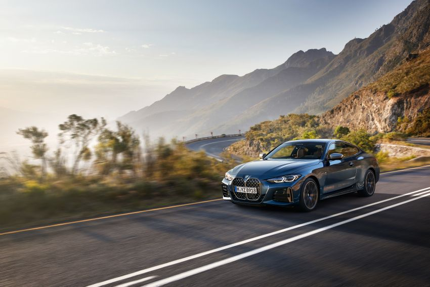 G22 BMW 4 Series Coupé debuts – five variants at launch; 48V mild-hybrid tech for M440i, three diesels Image #1125646