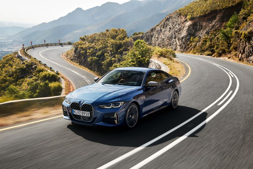 G22 BMW 4 Series Coupé debuts – five variants at launch; 48V mild-hybrid tech for M440i, three diesels Image #1125644