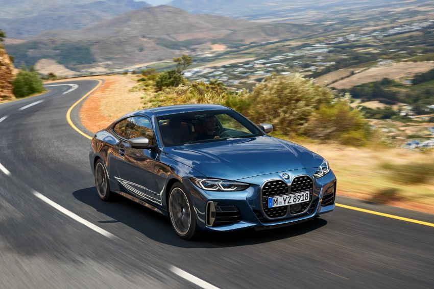 G22 BMW 4 Series Coupé debuts – five variants at launch; 48V mild-hybrid tech for M440i, three diesels Image #1125643