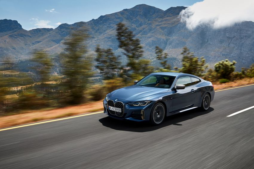 G22 BMW 4 Series Coupé debuts – five variants at launch; 48V mild-hybrid tech for M440i, three diesels Image #1125642