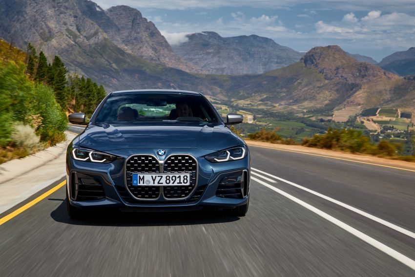 G22 BMW 4 Series Coupé debuts – five variants at launch; 48V mild-hybrid tech for M440i, three diesels Image #1125641
