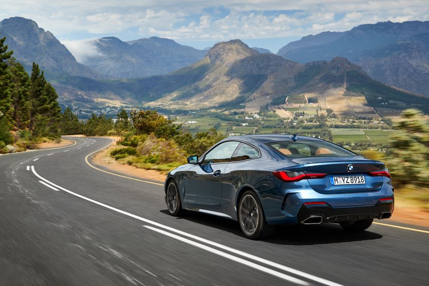 G22 BMW 4 Series Coupé debuts – five variants at launch; 48V mild-hybrid tech for M440i, three diesels Image #1125640