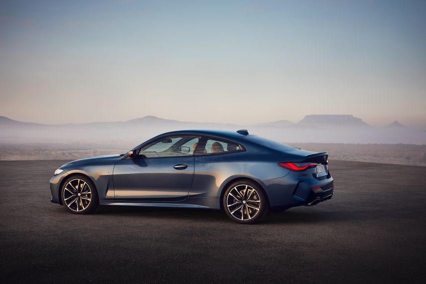 G22 BMW 4 Series Coupé debuts – five variants at launch; 48V mild-hybrid tech for M440i, three diesels Image #1125600