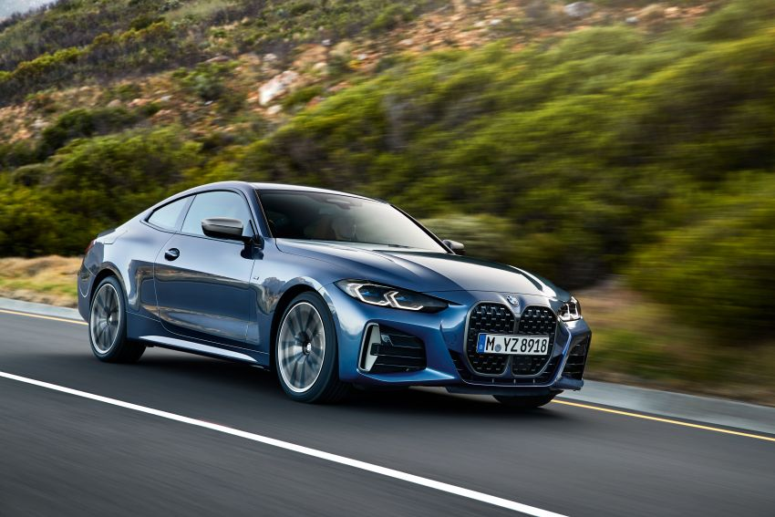 G22 BMW 4 Series Coupé debuts – five variants at launch; 48V mild-hybrid tech for M440i, three diesels Image #1125638