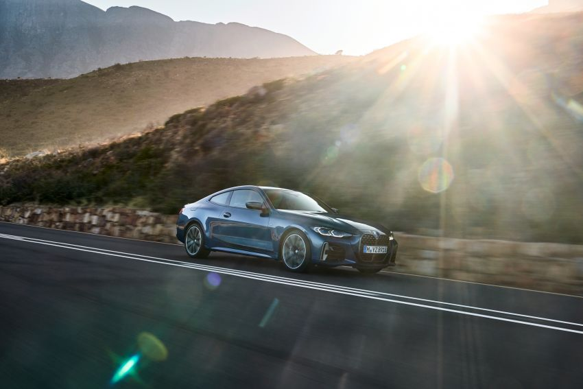 G22 BMW 4 Series Coupé debuts – five variants at launch; 48V mild-hybrid tech for M440i, three diesels Image #1125637