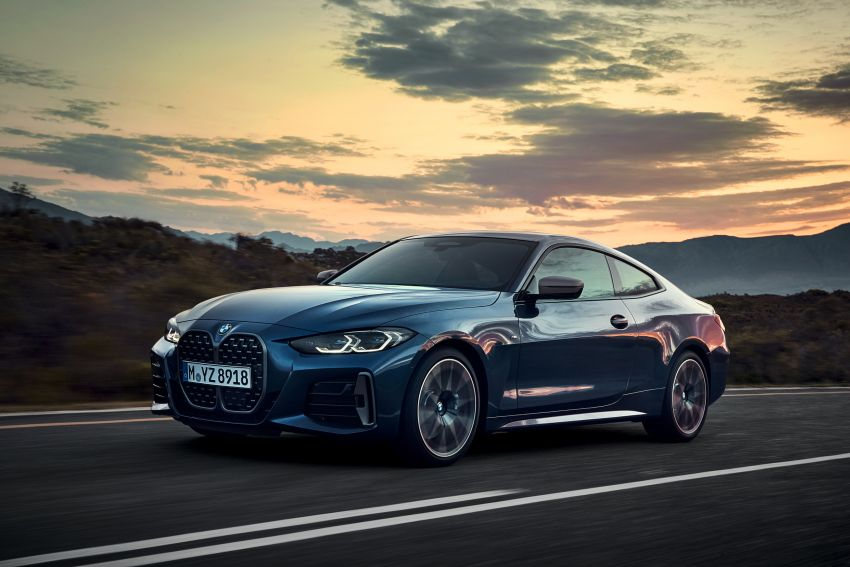 G22 BMW 4 Series Coupé debuts – five variants at launch; 48V mild-hybrid tech for M440i, three diesels Image #1125635