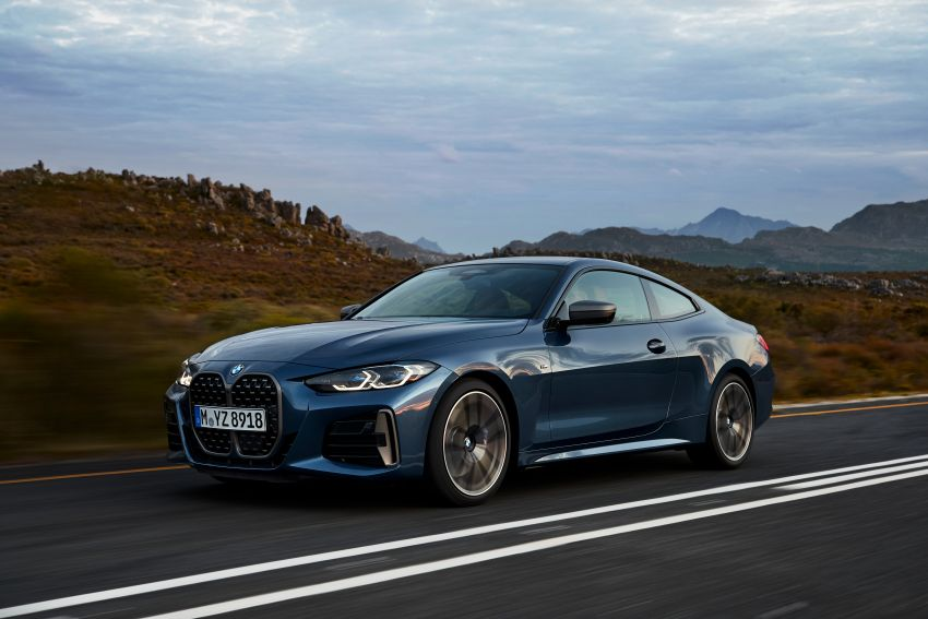 G22 BMW 4 Series Coupé debuts – five variants at launch; 48V mild-hybrid tech for M440i, three diesels Image #1125633