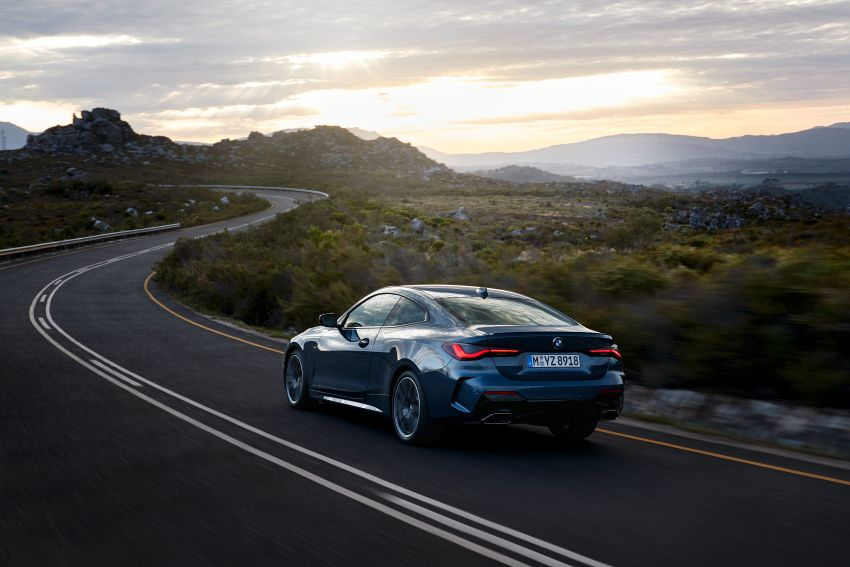 G22 BMW 4 Series Coupé debuts – five variants at launch; 48V mild-hybrid tech for M440i, three diesels Image #1125631