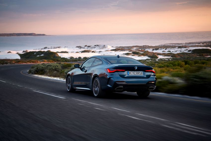 G22 BMW 4 Series Coupé debuts – five variants at launch; 48V mild-hybrid tech for M440i, three diesels Image #1125628