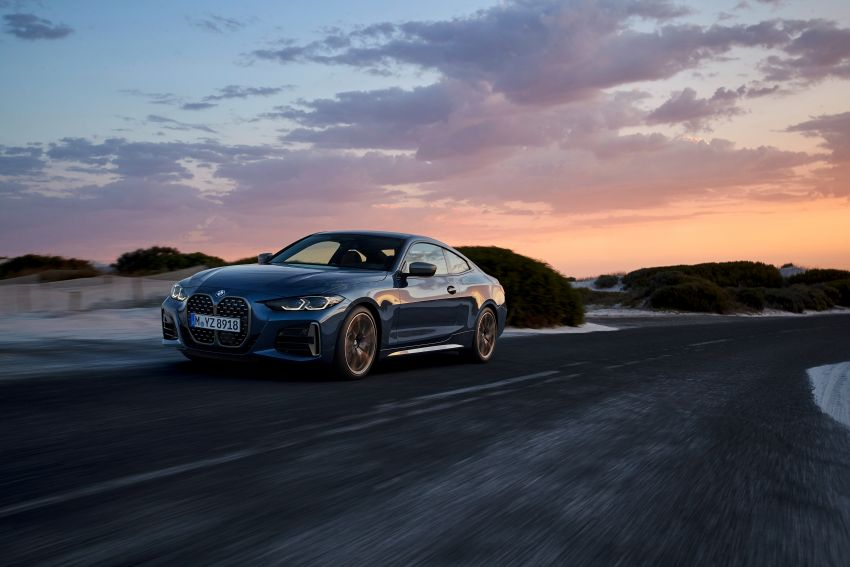 G22 BMW 4 Series Coupé debuts – five variants at launch; 48V mild-hybrid tech for M440i, three diesels Image #1125627