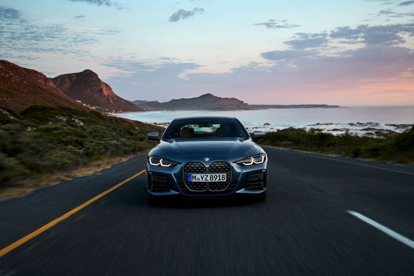 G22 BMW 4 Series Coupé debuts – five variants at launch; 48V mild-hybrid tech for M440i, three diesels Image #1125626