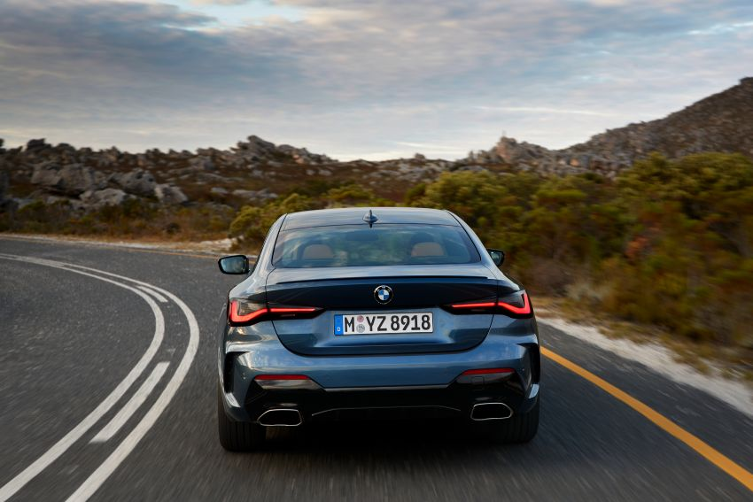 G22 BMW 4 Series Coupé debuts – five variants at launch; 48V mild-hybrid tech for M440i, three diesels Image #1125625