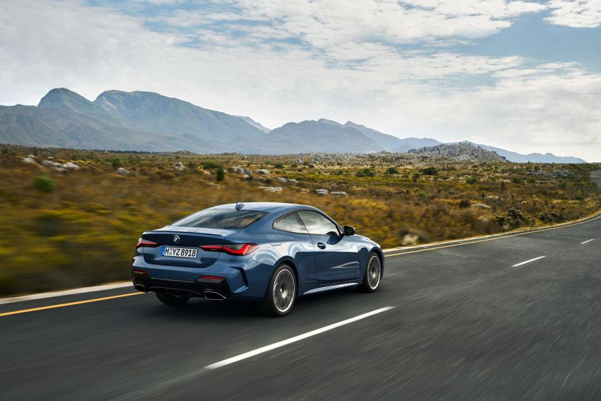 G22 BMW 4 Series Coupé debuts – five variants at launch; 48V mild-hybrid tech for M440i, three diesels Image #1125624