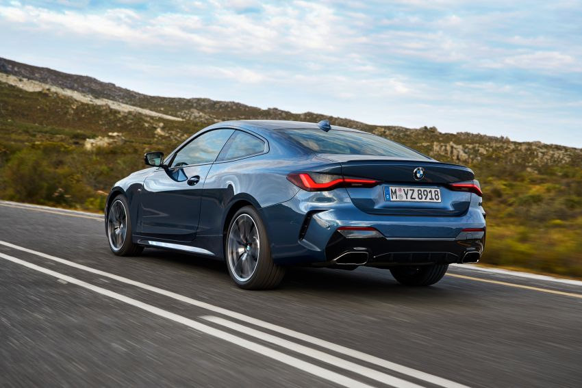 G22 BMW 4 Series Coupé debuts – five variants at launch; 48V mild-hybrid tech for M440i, three diesels Image #1125623