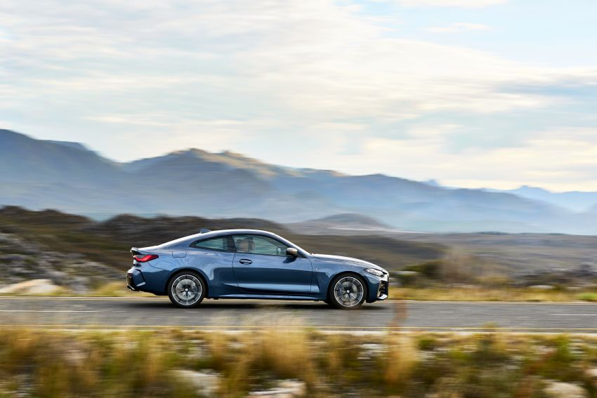 G22 BMW 4 Series Coupé debuts – five variants at launch; 48V mild-hybrid tech for M440i, three diesels Image #1125621
