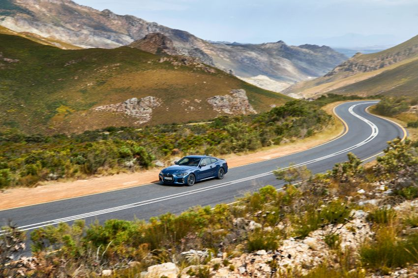 G22 BMW 4 Series Coupé debuts – five variants at launch; 48V mild-hybrid tech for M440i, three diesels Image #1125620