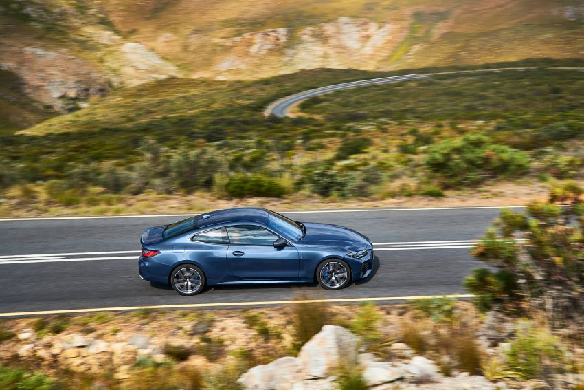 G22 BMW 4 Series Coupé debuts – five variants at launch; 48V mild-hybrid tech for M440i, three diesels Image #1125619