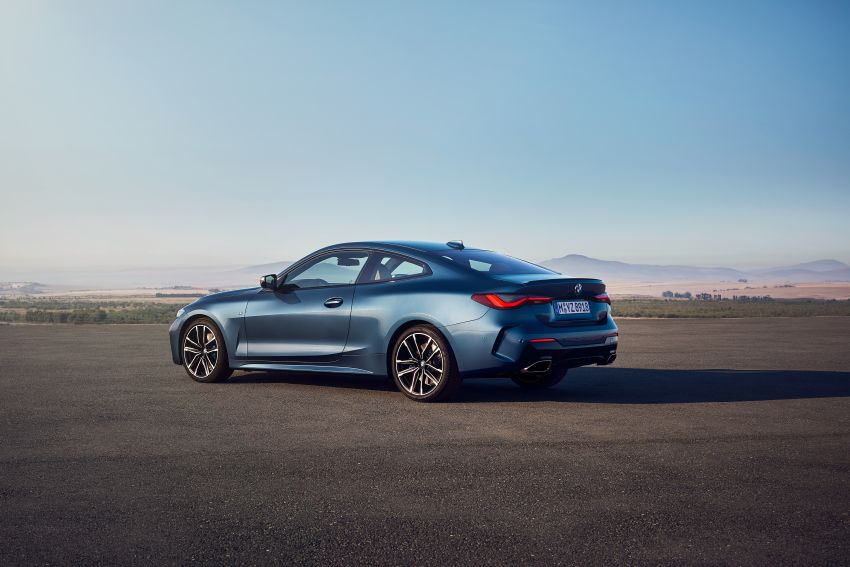 G22 BMW 4 Series Coupé debuts – five variants at launch; 48V mild-hybrid tech for M440i, three diesels Image #1125598
