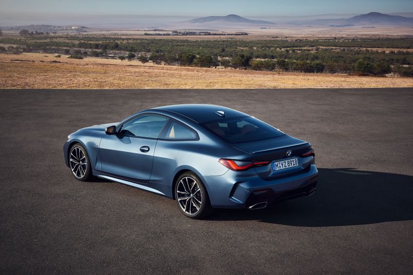 G22 BMW 4 Series Coupé debuts – five variants at launch; 48V mild-hybrid tech for M440i, three diesels Image #1125596