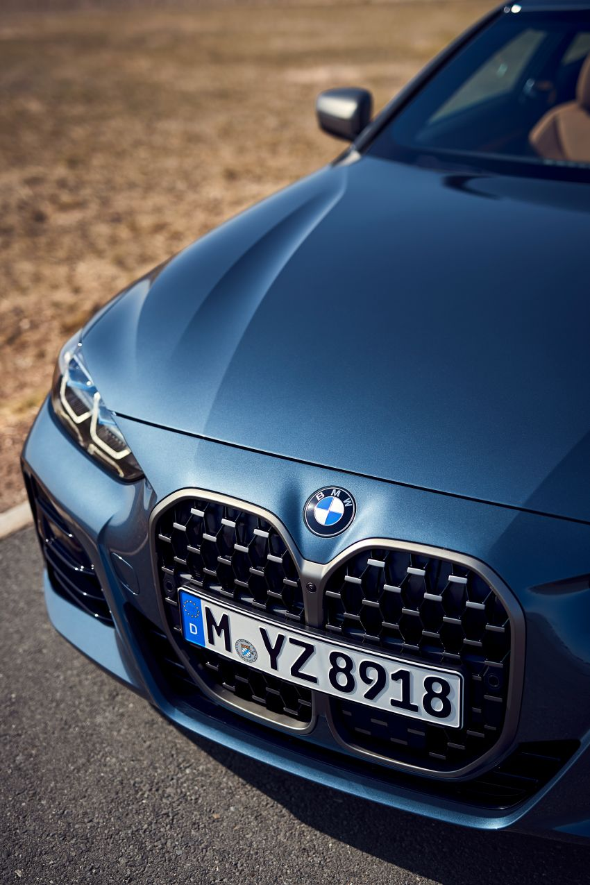 G22 BMW 4 Series Coupé debuts – five variants at launch; 48V mild-hybrid tech for M440i, three diesels Image #1125593